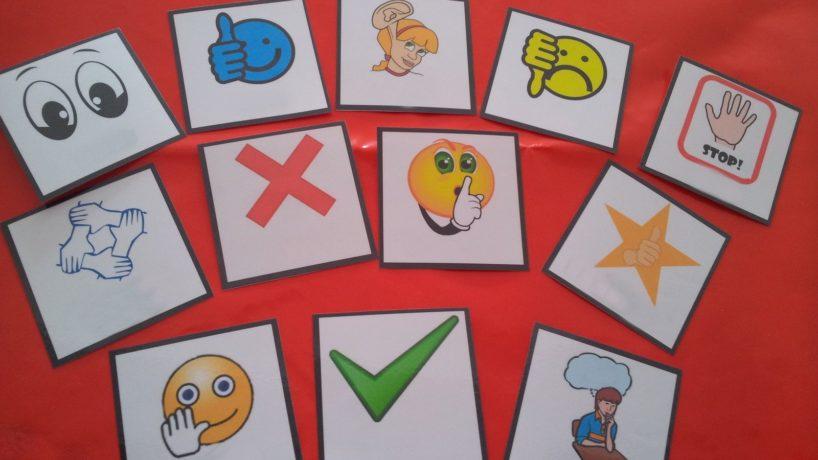 PECS sau comunicarea cu ajutorul pictogramelor/imaginilor